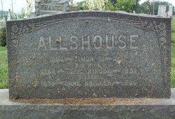 "Eliza Jane ""Jennie"" <I>Allshouse</I> Bricker"