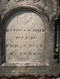 Mandus W Hill