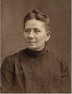 Justine Caroline Augusta <I>Hueskemeyer</I> Kuse Brinkmann