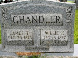 Willie <I>Kilpatrick</I> Chandler