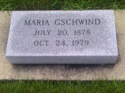 "Maria ""Mary"" <I>Kyburz</I> Gschwind"