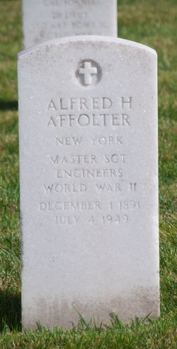 Alfred H Affolter