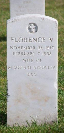 Florence V Affolter