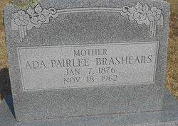 Ada Pairlee <I>Kirk</I> Brashears