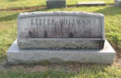 Mary E. <I>Keefer</I> Coleman
