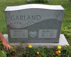 Mabel Elizabeth <I>Snyder</I> Garland