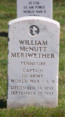 William McNutt Meriwether
