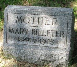 Mary <I>Staub</I> Billeter