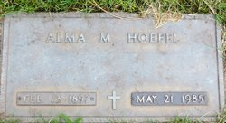 Alma Martha <I>Morach</I> Hoefel