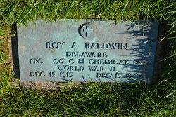 PFC Roy A Baldwin