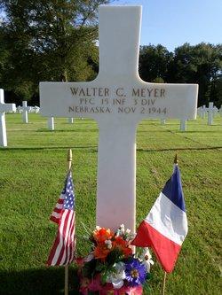 PFC Walter C Meyer