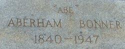 """Aberham """"Uncle Abe"""" Bonner"""