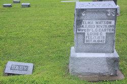 """Mattie Velma Louella """"Velma"""" <I>Watson</I> Carter"""