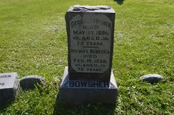 Rebecca <I>Dodson</I> Bowsher