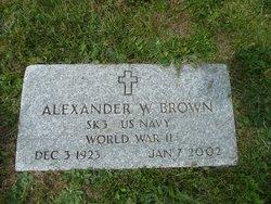 """Alexander Walker """"Brownie"""" Brown"""