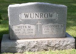 Meta M. <I>Gergs</I> Wunrow