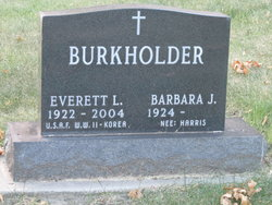 Barbara j. <I>Harris</I> Burkholder