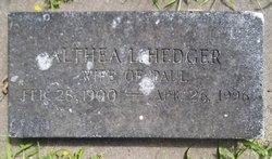 Althea L <I>Johnson</I> Hedger