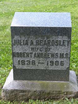 Julia A <I>Beardsley</I> Andrews