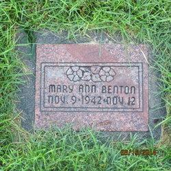 Mary Ann Benton