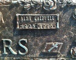 Alma Caldwell <I>Caldwell</I> Akers
