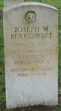 Joseph M Berkowski