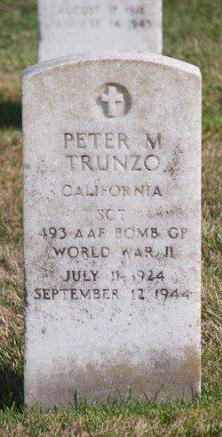 TSGT Peter M Trunzo