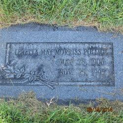 Leretta May <I>Morriss</I> Pollick