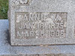 Annie M Cawthorne