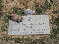 Myrna Kay <I>Harris</I> Brown