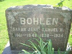 Sarah Jane <I>Henning</I> Bohlen
