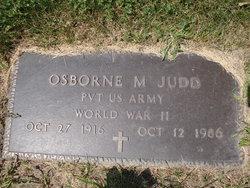 Osborne M Judd