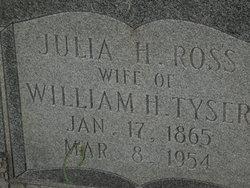 Julia H <I>Ross</I> Tyser