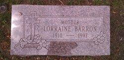 Lorraine Mary <I>Johnson</I> Barron