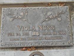Viola <I>Mulkey</I> Nunn
