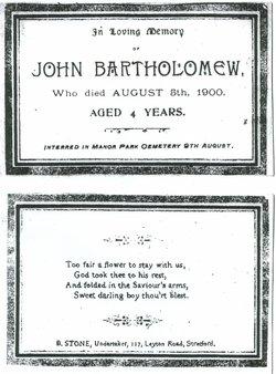 """John """"Jackie"""" Bartholomew"""