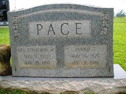 "Sarah Frances ""Fanny"" <I>Stevenson</I> Pace"