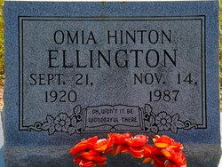 Omia <I>Hinton</I> Ellington