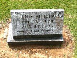 Janie <I>Baker</I> Hudgins