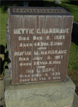 Nettie C. <I>Lawton</I> Hargrave
