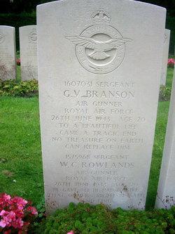Sgt Geoffrey Victor Branson