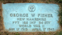 Pvt George W Fisher