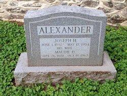 Maude D Alexander