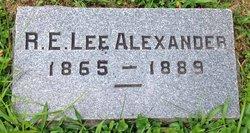 Robert E. Lee Alexander