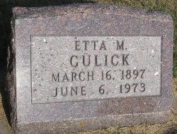 Etta Margaret <I>Wright</I> Gulick