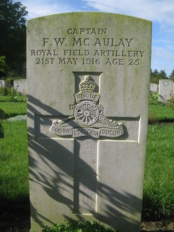 Francis Willmer Mcaulay