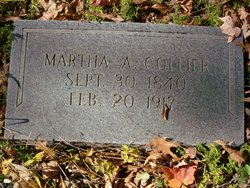 Martha Ann <I>Roark</I> Collier