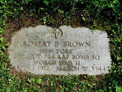 2LT Robert E Brown
