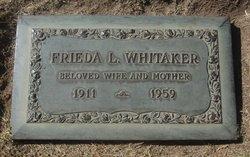 Frieda L <I>Ludwig</I> Whitaker
