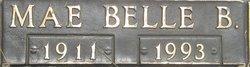 Mae Belle <I>Bumgardner</I> Steele